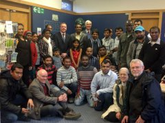 Bob Works With Royston's Sri-Lankan Community To Gift City Burns Statue