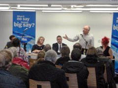 Bob Launches Yes Maryhill